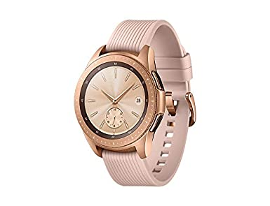 aa4a697ae Samsung Galaxy Watch 42 mm, Rose Gold - SM-R810NZDAXSG: Amazon.ae