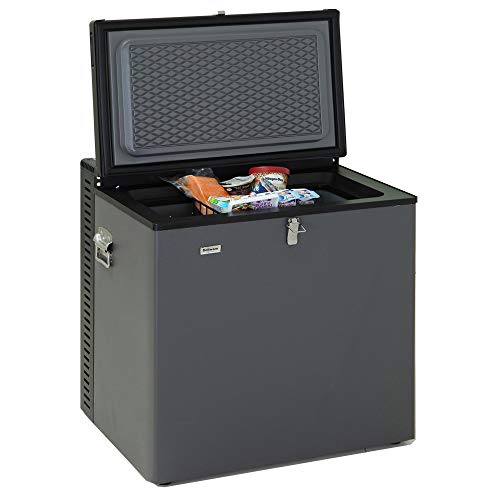 SMETA Electric LPG AC/DC Propane Gas Absorption Chest Freezer...