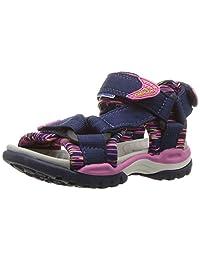 Geox Girl's J BOREALIS GIRL Flat Sandals