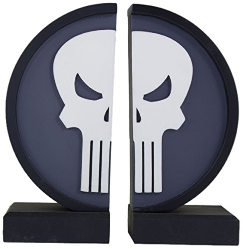 Marvel Punisher Logo Collectible Bookend