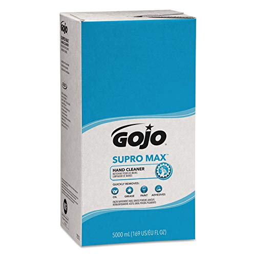 GOJO PRO TDX SUPRO MAX Hand Cleaner, 5000 mL Heavy-Duty Hand Cleaner Refill for GOJO PRO TDX Dispenser (Pack of 2) - 7572-02