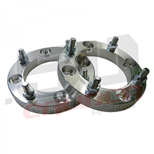 One Pair (2) of Wheel Spacers - 4x156 – 1 Inch Thick – 12x1.5mm Studs - Polaris XP1000, S 900, S 1000 and Ranger 2013-up [5285]