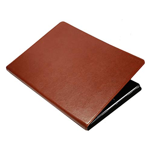 Tranesca Premium Leather Case for Apple iPad Pro 9.7 with Apple Pencil Holder 2016 Version (Not for iPad Air or iPad Mini),Topaz Brown