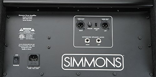 simmons da200s electronic drum set monitor. simmons da200s electronic drum set monitor da200s