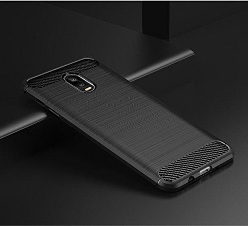 Funda Samsung Galaxy C8,Funda Fibra de carbono Alta Calidad Anti-Rasguño y Resistente Huellas Dactilares Totalmente Protectora Caso de Cuero Cover Case Adecuado para el Samsung Galaxy C8 A