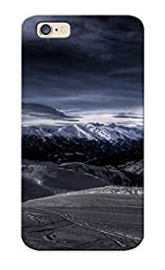 Iphone 6 Case - Tpu Case Protective For Iphone 6- Picturesque Mountain Scenery Case For Thanksgiving's Gift