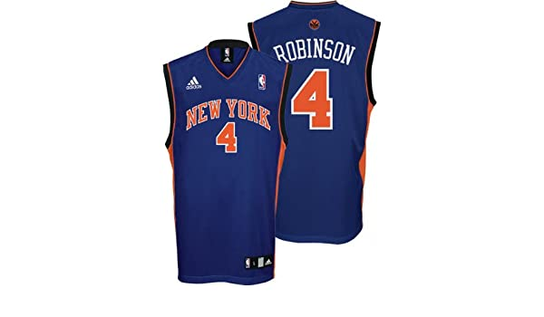 Amazon.com : Nate Robinson Youth Jersey: adidas Blue Replica #4 New York Knicks Jersey : Athletic Jerseys : Sports & Outdoors