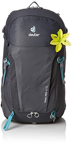 Deuter Trail - Deuter Trail Pro 30 SL Backpacking Backpack, Graphite/Black