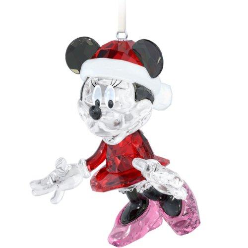 Swarovski Disney Minnie Mouse Christmas Ornament Figurine (Mouse Minnie Swarovski)
