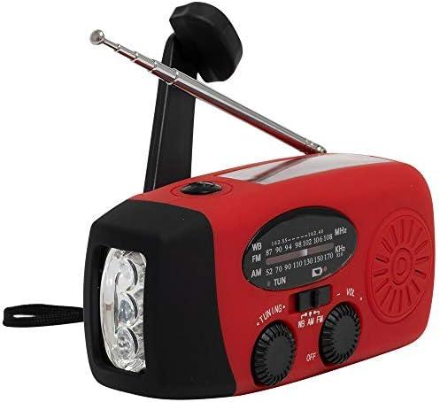 Emergency Weather Powered Flashlight 1000mAh product image