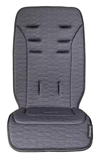 (UPPAbaby Reversible Seat Liner - Reed (Denim/Cozy Knit))