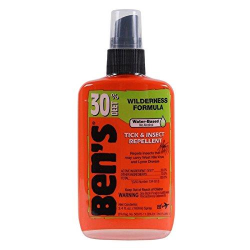 Ben's 30% Deet Insect Repellent Spray, 3.4 oz (Pack of - Insect 100 Repellent Deet