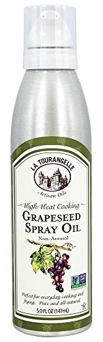 Cooking Spray Ingredients - La Tourangelle High-heat Cooking Grapeseed Spray Oil, 5 Fl Oz