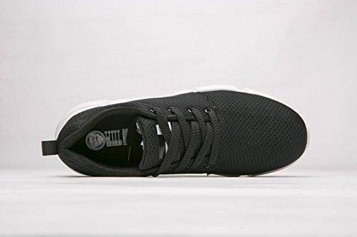 Plein Hommes Air Qzbeita De Chaussures Léger En Confortable Le Casual Chaussure Course Chaussures De Sport Pour Hommes Respirant Chaussures Sport De Sport Chaussures Noir Chaussures Oqn70xqa