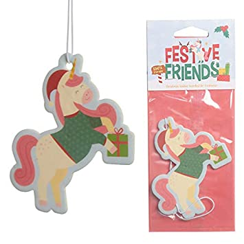 eUnique Christmas Car Air Fresheners (Elf)