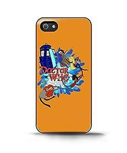 advtimex docwho Adventure Time Case For Sam Sung Galaxy S5 Mini Cover Back Case Cover