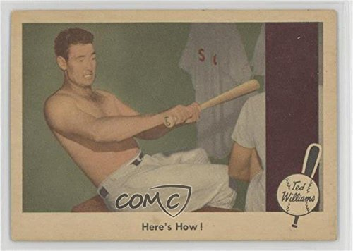 Ted Williams Ted Williams (Baseball Card) 1959 Fleer Ted Williams - [Base] #74