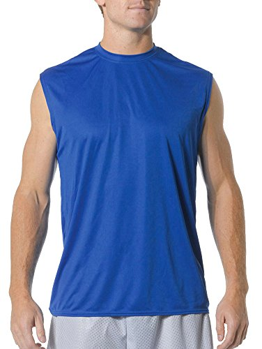 A4 Cooling Performance Muscle T-Shirt (N2295), Royal Blue, M
