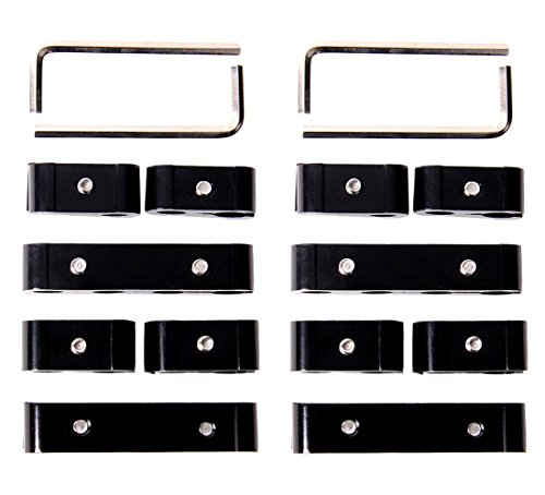 (Hiwowsport 12pc Engine Spark Plug Wire Separator Divider Suit for 8mm 9mm 10mm)