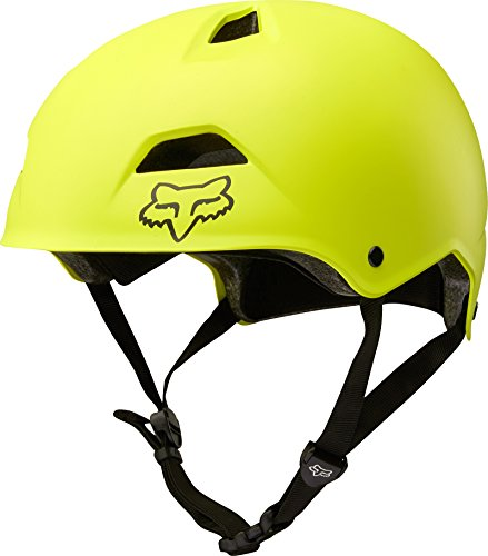 Fox Racing Flight Sport Helmet Yellow/Black, L - Helmet Racing Bicycle