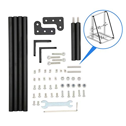 Upgrade 3D Printer Parts Supporting Pull Rod Kit Compatible with CR-10/CR-10S/CR-10 S4/CR-10 S5 Alfawise U10/U20 TEVO Tornado E12