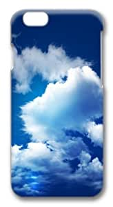 Blue Sky And Clouds Custom iphone 6 plus Case Cover Polycarbonate 3D wangjiang maoyi by lolosakes