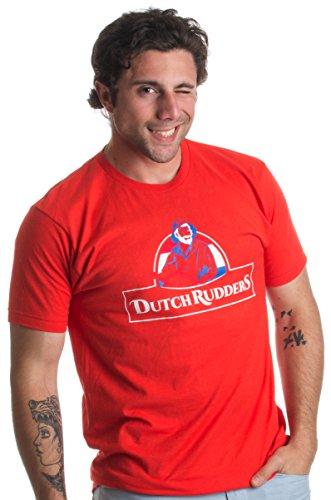 Dutch Rudders | Funny Offensive Sex Joke Softball, Kickball Team Unisex T-shirt
