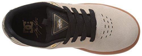 DC Shoes Cole Signature Skate Schuh Youth, Mehrfarbig - Tan/Gum - Größe: 30 EU Kinder