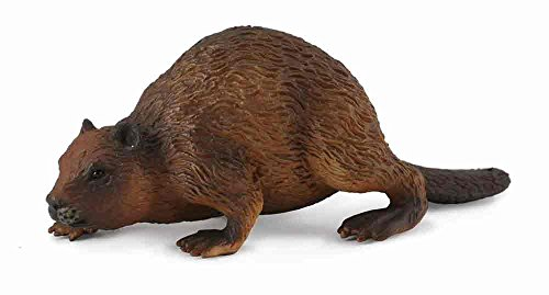 CollectA Woodlands Beaver Toy Figure - Authentic Hand Painted Model