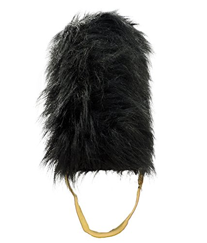 [Royal British Guard Uniform Beefeater English Bearskin Costume Hat] (Beefeater Costumes)