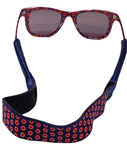 Croakies XL Phish Fishman Donuts Eyewear Retainer Sunglass - Croakies On Wayfarers