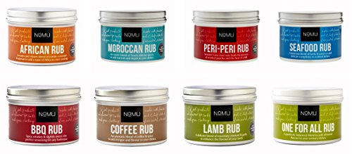 NoMU Lamb - BBQ - Coffee - One For All - Moroccan - Peri-Peri - Coffee - African 8 Pack