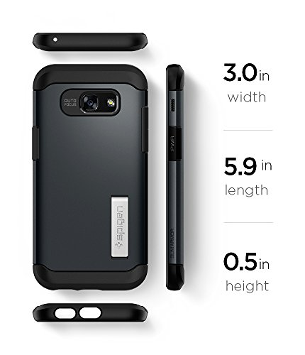 945d2dde555 ... Spigen Slim Armor Galaxy A5 2017 Case with Air Cushion Technology and  Hybrid Drop Protection with ...