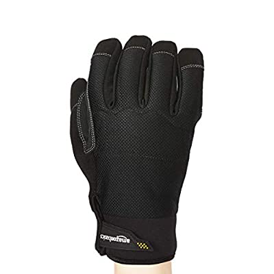 Basics Premium Waterproof Winter Plus Performance Gloves, Black, XXL: Industrial & Scientific