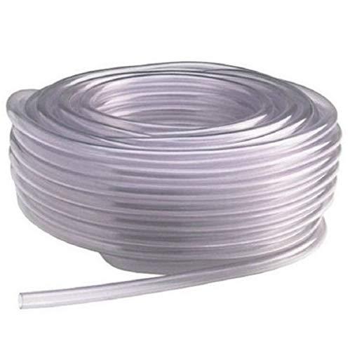 - Vinyl Tubing 100ft HVAC Drain Hose AC Condensate Pump 1/2in ID Water Tube Clear