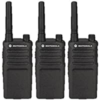 3 Pack of Motorola RMU2040 Two way Radio Walkie Talkies (UHF)