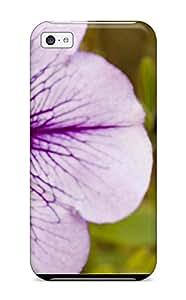 LovingShop Gvcxb6436hWTxF Protective Case For Iphone 5c(beautiful Purple Flowers)