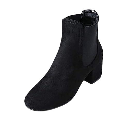 9f8b6e05ebf9 JIANGfu Fashion Women Leopard Print Suede Casual Shoes Ladies Chunky Heels Ankle  Booties Leisure Outdoor Zipper