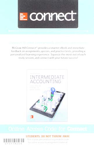 GEN COMBO CONNECT AC INTERMEDIATE ACCOUNTING; ALEKS 11 WK AC ACCOUNTING