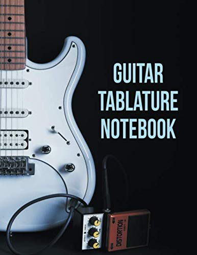 (Guitar Tablature Notebook: 5 Blank Chord Diagrams Seven 6-line Staves per page with 110 pages printed on both sides in an 8.5x11 size. )