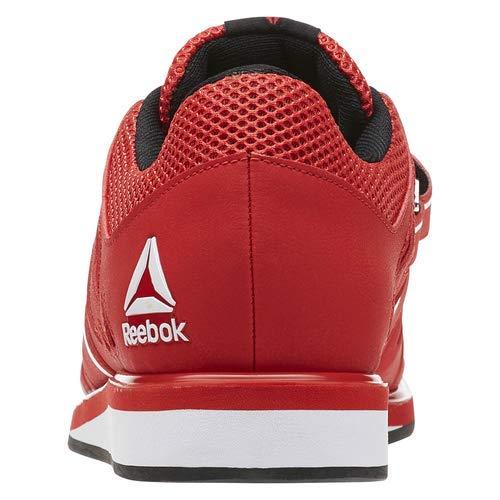 Reebok Men's Lifter Pr Cross-Trainer Shoe, Primal Red/Black/White, 7.5 M US by Reebok (Image #8)