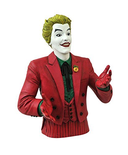 - DIAMOND SELECT TOYS Batman Classic 1966 TV Series: The Joker Vinyl Bust Bank