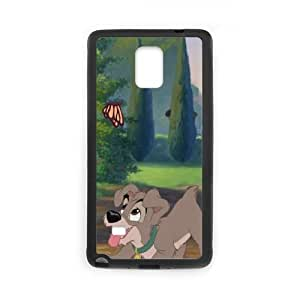 Samsung Galaxy S4 Phone Case Black Lady and the Tramp II Scamp's Adventure CXF329791