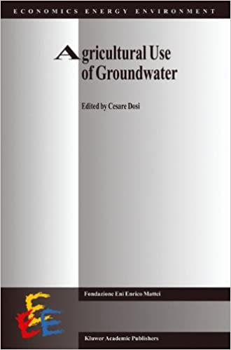 Agricultural Use of Groundwater: Towards Integration Between Agricultural Policy and Water Resources Management (Economics, Energy and Environment)
