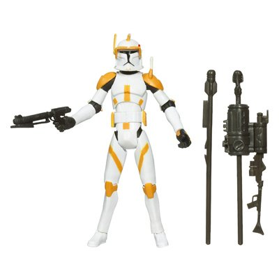Wars Figures Star Wars Clone (Star Wars Clone Wars Animated Action Figure No. 10 Clone Commander Cody)