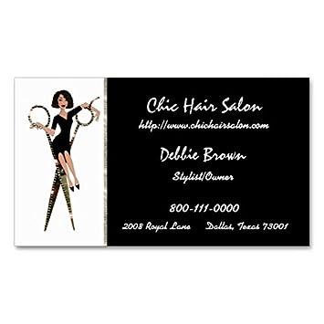 Cartes De Visite Salon Afro Americain Modele Carte
