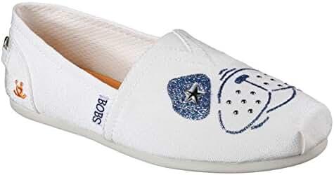 Skechers Bobs Plush See Spot Run Womens Slip On Shoes