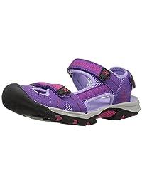 Kamik Girls' JETTY2 Sandal, Purple, 4 M US Big Kid