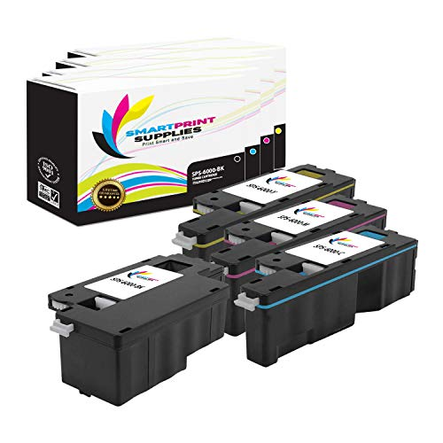 Smart Print Supplies Compatible 106R01630 106R01627 106R01628 106R01629 Toner Cartridge Replacement for Xerox Phaser 6000 6010, Workcentre 6015 Printers (Black, Cyan, Magenta, Yellow) - 4 Pack ()