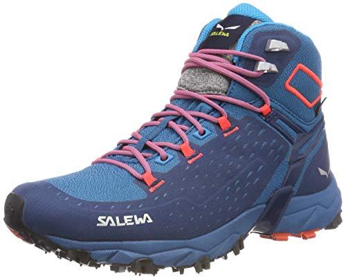 Chaussures Fluo de 8363 Sapphire Alpenrose Randonnée Tex UK Mineral Red 4 5 Coral Hautes Femme Blue Blau Night Ultra Gore WS Mid Black Salewa xgYqw10q
